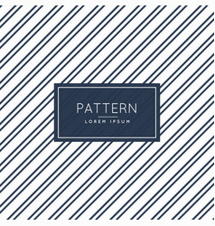 minimal diagonal lines pattern background vector image