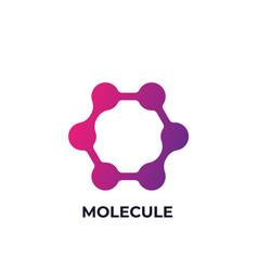 Molecule icon science logo element vector
