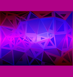 pink purple blue random sizes low poly background vector image