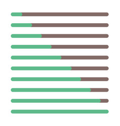 Progress bar set loading status bar web vector