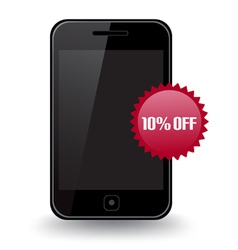 Smart Phone Discount vector