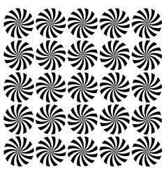 Spinning windmills vector image