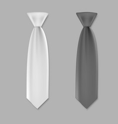 Ties for men template vector