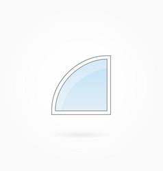 Window frame eps 10 vector