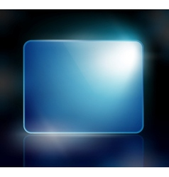 background with a blue sign vector image vector image