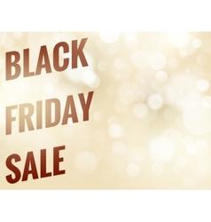 Black Friday ribbon EPS 10 vector image