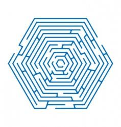 maze vector image vector image