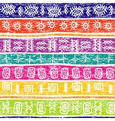 background ethnic motifs vector image vector image
