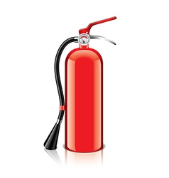 object fire extinguisher vector image vector image