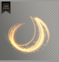 abstract light streak lines vector image