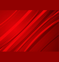 Abstract red background with red curve vector