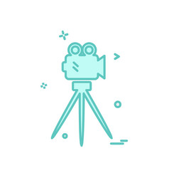 camcoder icon design vector image