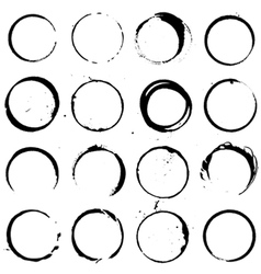 Circle Elements set 01 vector
