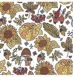 cozy fall vector image