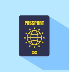 Europe passport vector