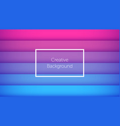 geometric background with horizontal stripes vector image
