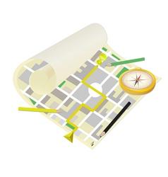 Location map vector