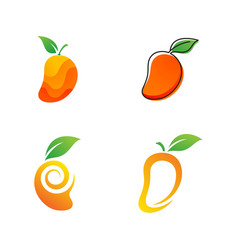 Mango icon design vector