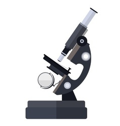 Microscope for medical vector image