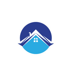 property and construction home logo design for vector image