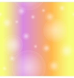 Seamless pattern of bubble vector image