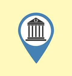 Sight Pin Icon vector image