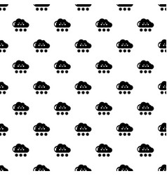 snow pattern seamless vector image