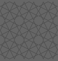 tile grey and black pattern vector image