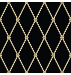 daisy iron pattern vector image vector image