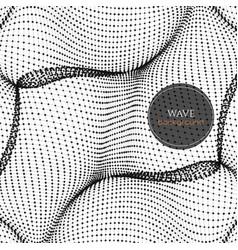 Wavy abstract vector