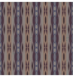 Decorative striped pattern in organic colors vector image vector image