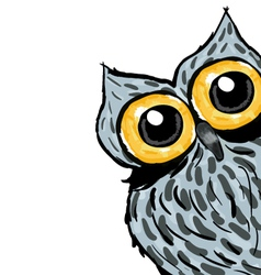 An owl design vector