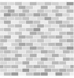 Brick wall pattern seamless brick background vector