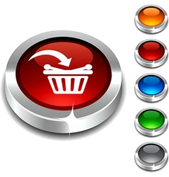 Buy 3d button vector image
