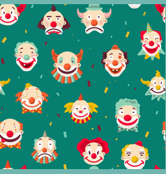 clowns entertaining people emotions man vector image