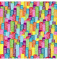 Doodle block pattern vector