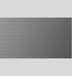 led tv screen monitor vector image