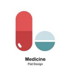 Medicine flat vector
