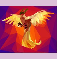 phoenix low vector image