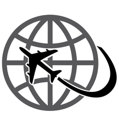 Plane earth vector