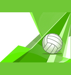 Volleyball abstract background vector