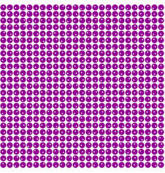 Background with purple circles vector