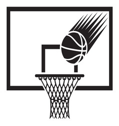 Basketball2 resize vector image vector image