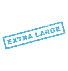 Extra Large Rubber Stamp vector image