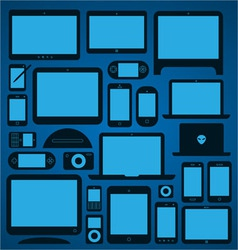 Mobile Devices vector image