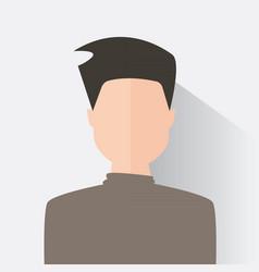 avatar men design vector image
