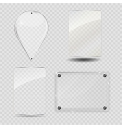 Glass Frame Set vector image vector image