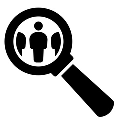 HR icon vector image