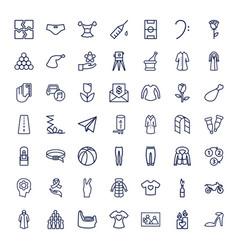 49 sketch icons vector