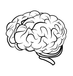 Brain storming concept icon vector